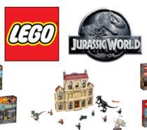 Un set e quattro box-set di LEGO a tema Jurassic World: Il Regno Distrutto