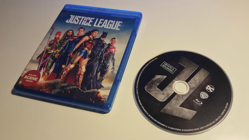 Il Blu-ray italiano di Justice League
