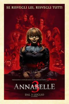 Annabelle nel poster italiano di Annabelle 3