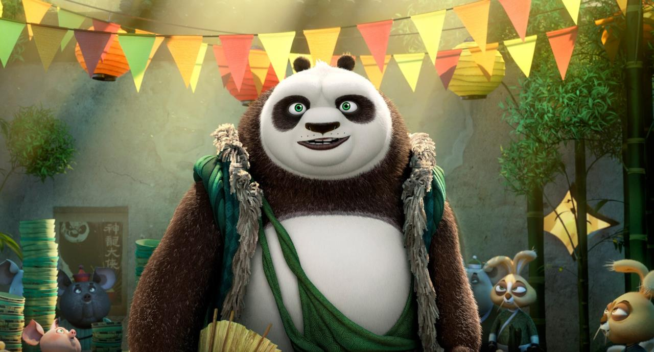 Il padre di Po in Kung Fu Panda 3