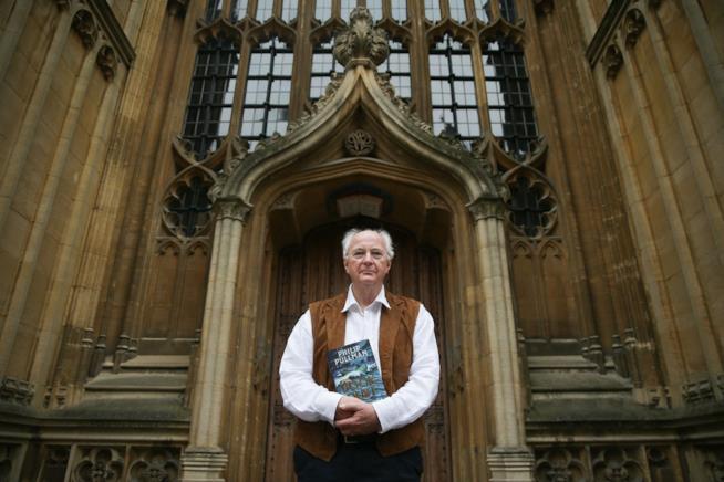 Lo scrittore Philip Pullman