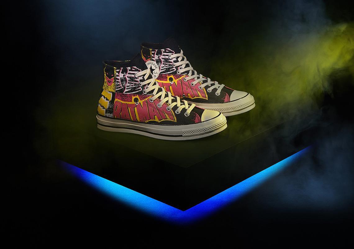 L'Uomo Pipistrello ispira le scarpe di Converse