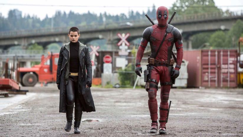 Una scena tratta da Deadpool