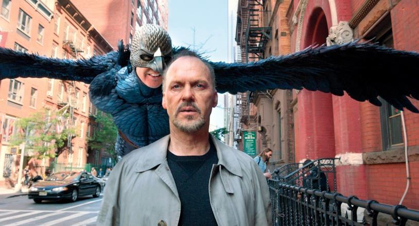 Una scena di Birdman