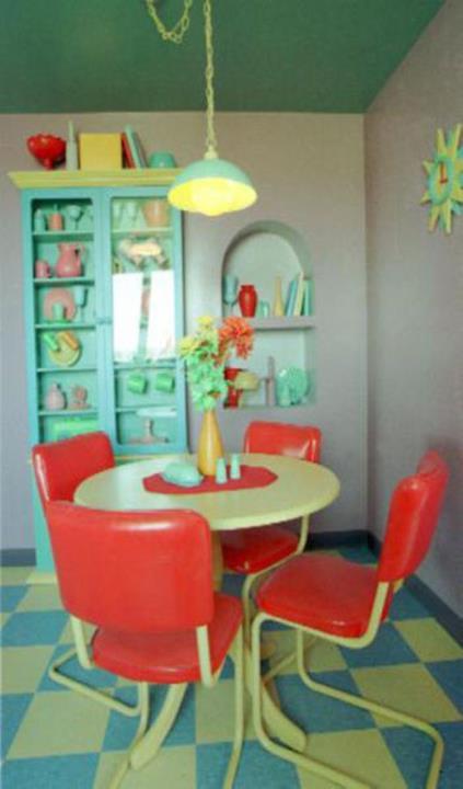 Il tavolo della cucina di Casa Simpson