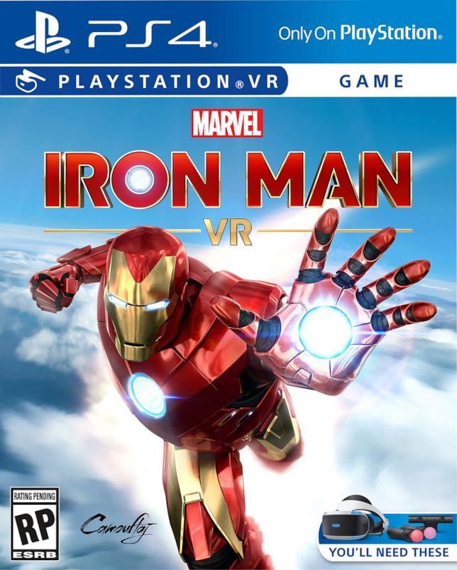 La copertina di Iron Man VR