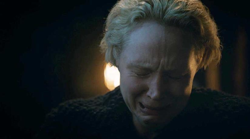 Gwendoline Christie piange in Game of Thrones 8x04
