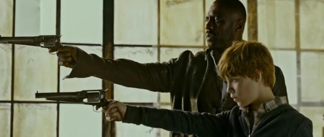 Il Pistolero e Jake prendono la prima per sparare in una scena di La Torre Nera