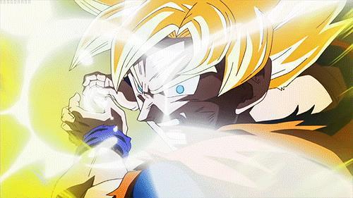 Goku, il protagonista di Dragon Ball e la sua Kamehameha