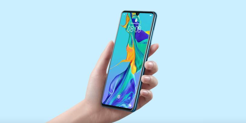 Immagine promozionale di Huawei P30