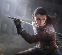 Arya Stark nel browser game di Game of Thrones
