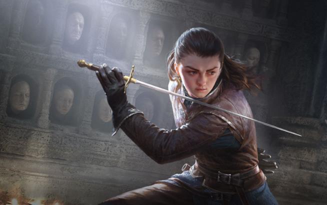 Arya Stark nel browser game di Game of Thrones