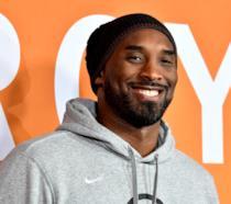Kobe Bryant sorridente