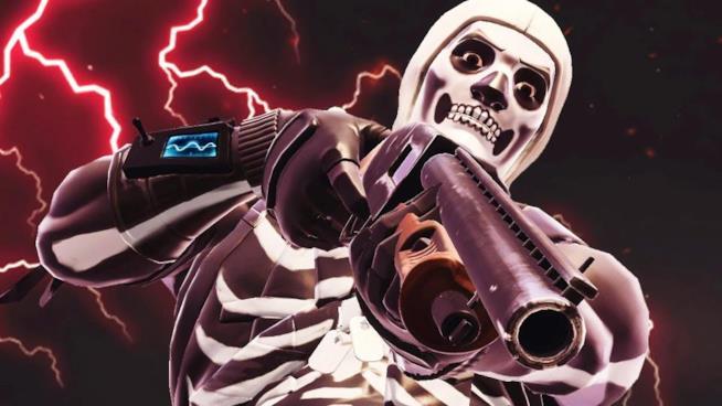La rarissima skin Skull Trooper di Fortnite