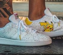 Le scarpe Adidas in produzione dedicate a Pikachu