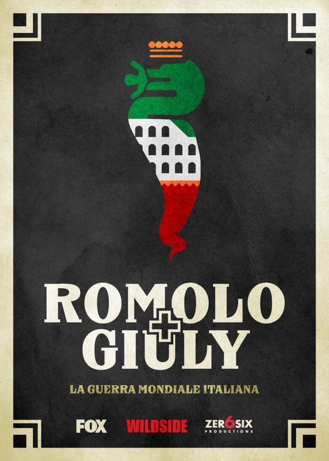 Il primo poster per Romolo + Giuly, la nuova comedy tutta italiana di FOX