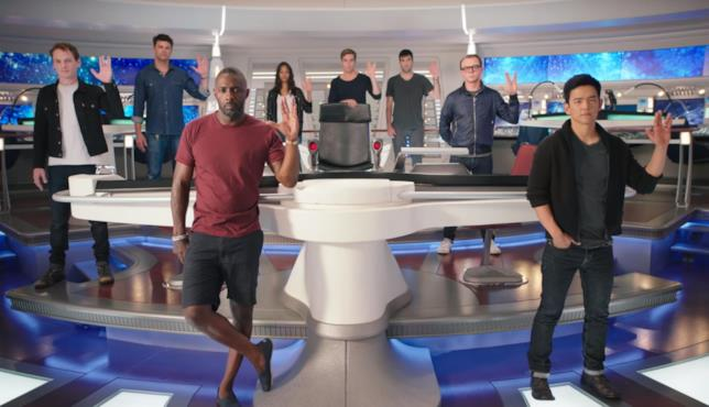 Il cast di Star Trek Beyond rende omaggio a Leonard Nimoy