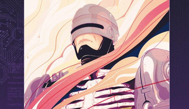 La cover del primo volume di RoboCop, edito da saldaPress