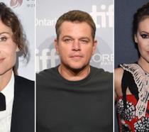 Minnie Driver, Matt Damon e Alyssa Milano in occasione di eventi ufficiali
