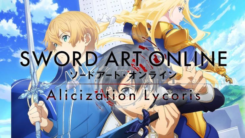 Sword Art Online Alicization Lycoris protagonist