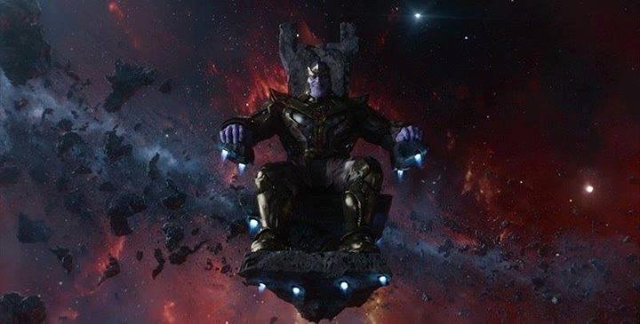 Josh Brolin nei panni di Thanos in Guardiani della Galassia