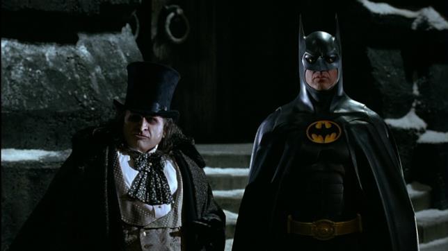 Danny DeVito e Michael Keaton