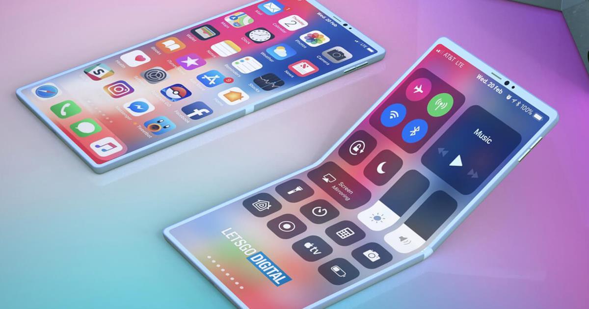 Anche Apple pensa ad uno smartphone pieghevole, lo rivela un brevetto