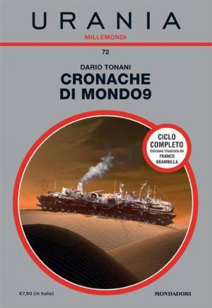 Copertina di Cronache di Mondo9, nelal collana Urania Millemondi