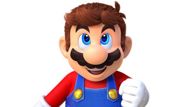 Un sorridente Mario