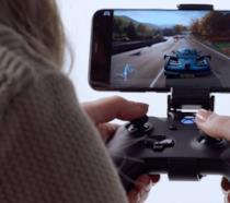 Microsoft Project xCloud in esecuzione su uno smartphone