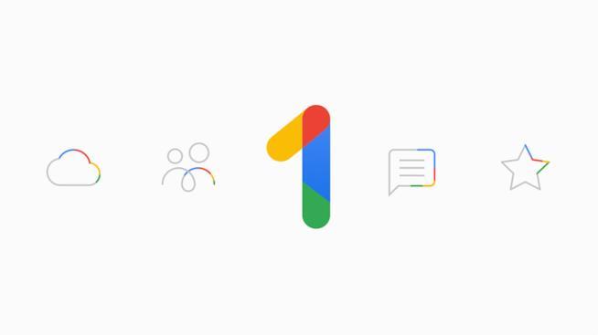 Il logo di Google One