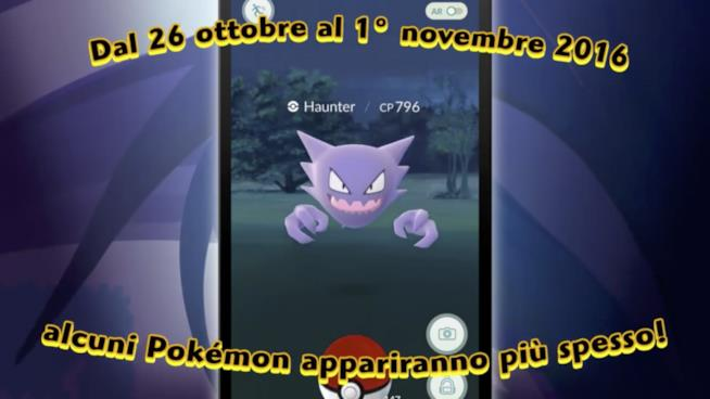 Nintendo celebra Halloween con un evento in Pokémon GO