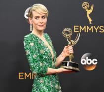 Sarah Paulson elegantissima agli ultimi Emmy Awards