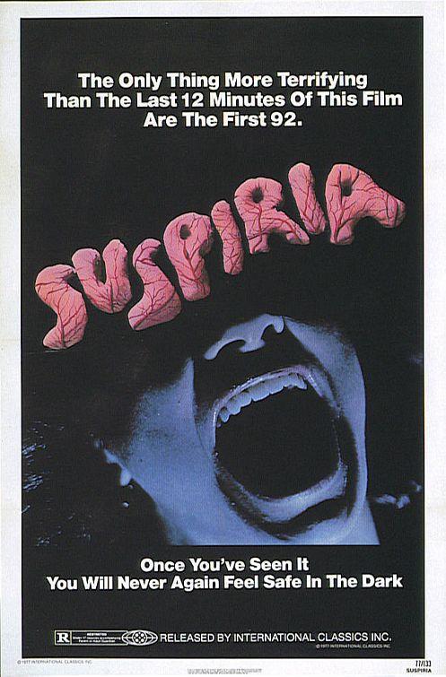 Poster americano di Suspiria