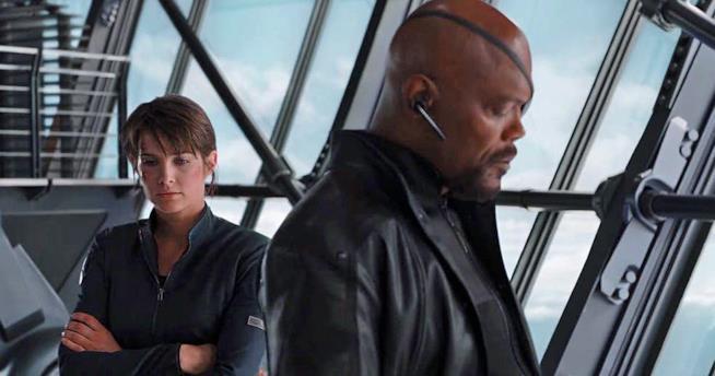 Samuel L. Jackson ne panni di Nick Fury