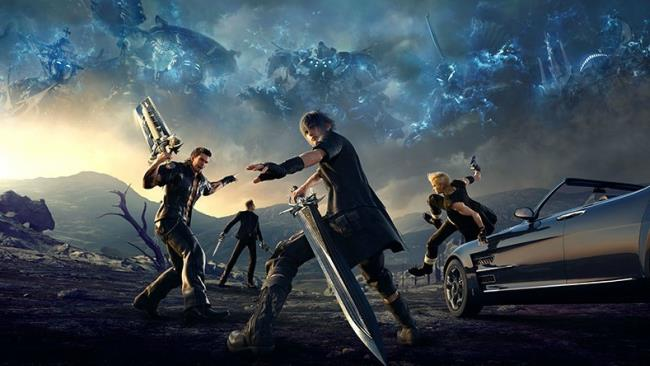 Screen di Final Fantasy XV