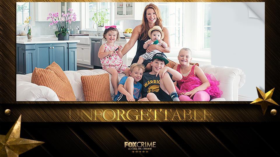 Poppy Montgomery in una splendida foto di famiglia con i piccoli Jackson, Haley, Braydon, Violet Grace e Gus Monroe
