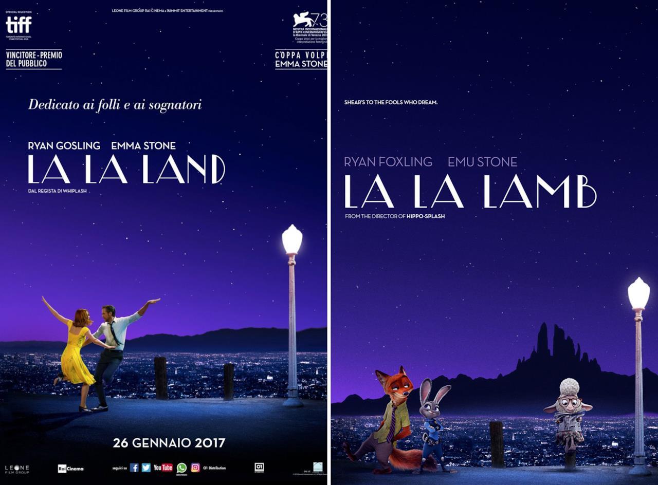 La La Land e La La Lamb a confronto