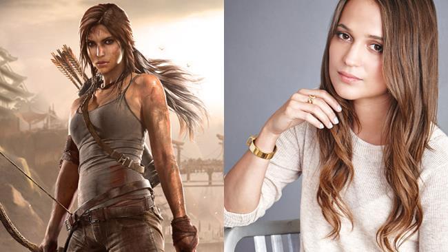Alicia Vikander interpreterà Lara Croft