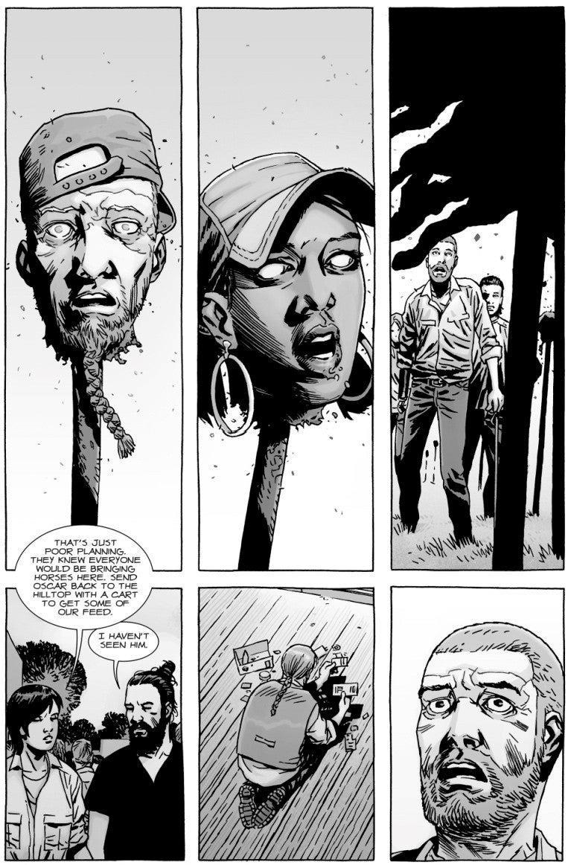 The Walking Dead: Rosita nel massacro delle picche a fumetti