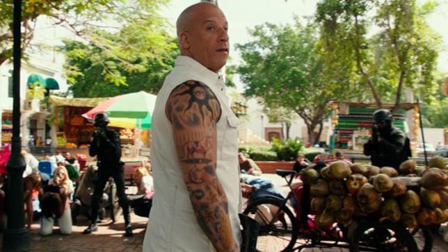 Vin Diesel sul set di xXx 3