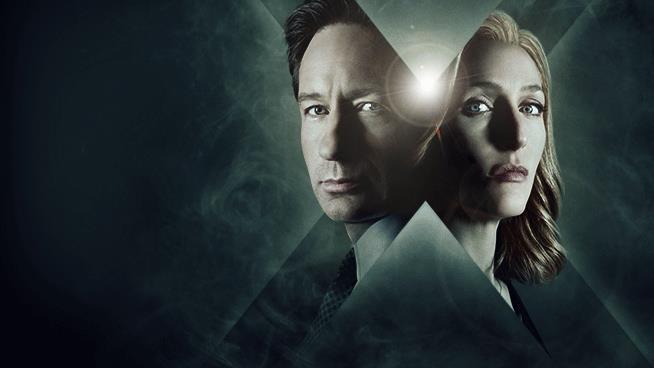 Mulder e Scully, i due protagonisti di X-Files