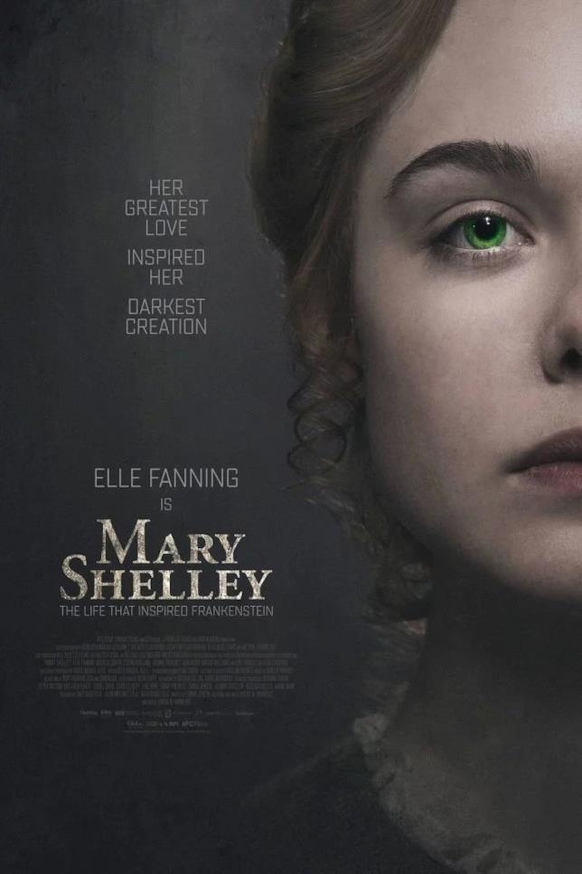 Poster ufficiale di Mary Shelley