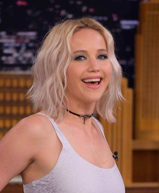 Jennifer Lawrence da Jimmy Fallon