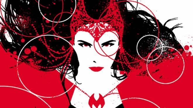 Scarlet in una bellissimo disegno tratto dal suo ultimo fumetto