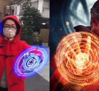I cerchi magici di Doctor Strange ricreati con ventilatori 3D [VIDEO]
