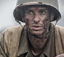 Andrew Garfield in La Battaglia di Hacksaw Ridge