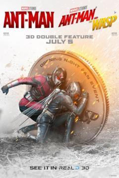 Ant-Man e Wasp si nascondono dietro una monetina