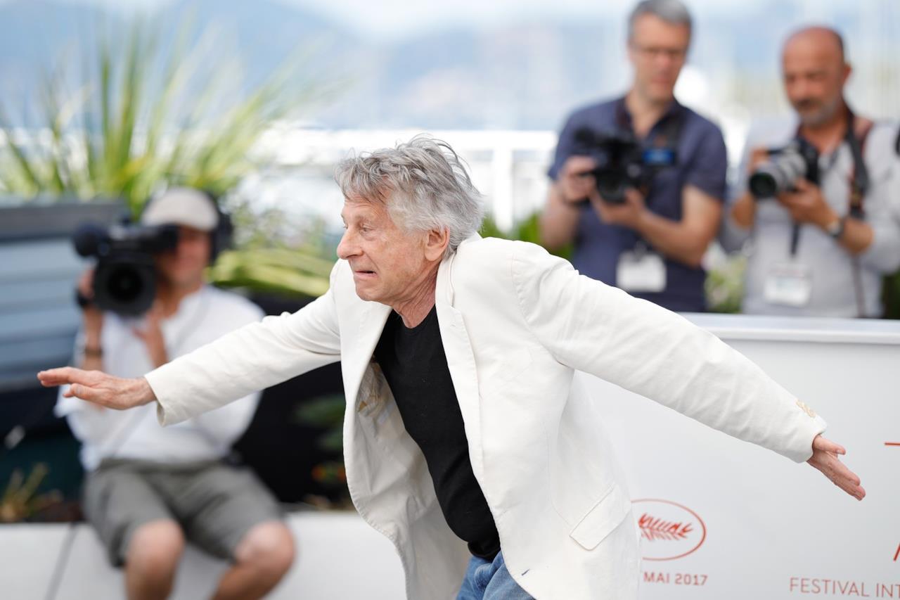 Roman Polanski scherza al photocall di Based on a True Story