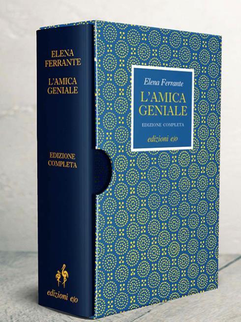 L'edizione limitata del primo volume della quadrilogia napoletana